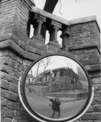 Self-portrait at Great Wall of China
