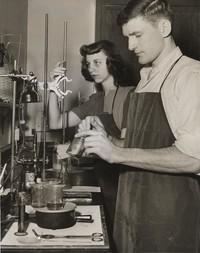 1947 Ann Pearson and Keith Booman
