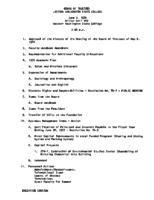 WWU Board minutes 1976 June