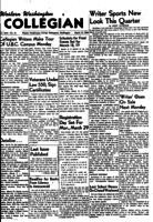 Western Washington Collegian - 1954 March 12