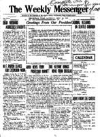 Weekly Messenger - 1917 September 29