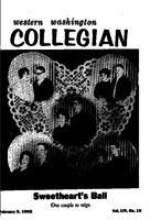 Western Washington Collegian - 1962 February 9