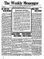 Weekly Messenger - 1919 October 24