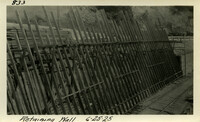Lower Baker River dam construction 1925-06-25 Retaining Wall