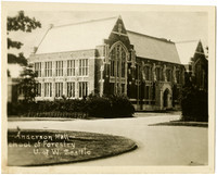 Exterior of Anderson Hall, School of Forestry, University of Washington