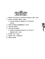 WWU Board minutes 1981 March