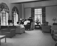 1947 Men's Residence Hall: Living Room