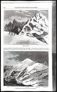 Mountaineering on the Pacific (copy of page 14 of article from Harper's New Monthly Magazine)