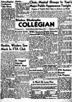 Western Washington Collegian - 1949 December 9