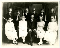Lynden Christian Grade School's first graduating class in 1919