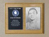 Hall of Fame Plaque: Stan Peterson, Men's Basketball (Guard), Class of 1988