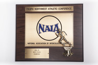 Track and Field (Men's) Plaque: Pacific Northwest Athletic  Conference NAIA Champions, 1994/1995
