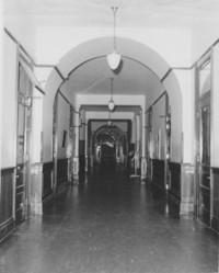 1954 Old Main: Interior Hallway