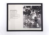 Basketball (Men's) Photograph: Manny Kimmie, Guard, 1990