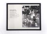 Basketball (Men's) Photograph: Manny Kimmie, Guard, 1990