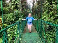 A Viking in the Cloud Forest - Monteverde, Costa Rica