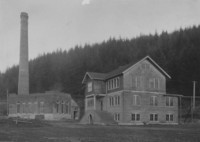 1917 Manual Training Building with Heating Plant