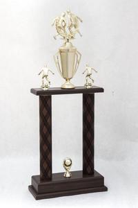 Soccer (Men's) Trophy: Redwood tournament champions (back), 1989