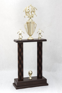 Soccer (Men's) Trophy: Redwood tournament champions (back), 1989