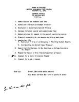 WWU Board minutes 1969 November