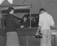 1948 Library: Circulation Desk