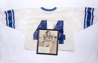 Football Jersey and Photograph: Tom Wigg, #44, 1970/1973