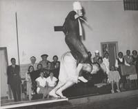 Blue Barnacles Swim Club, Two Male Members of the Blue Barnacles Swim Club Performing