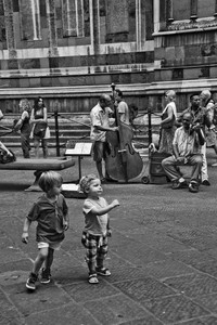 Jazz Band at the Duomo - Florence, Italy