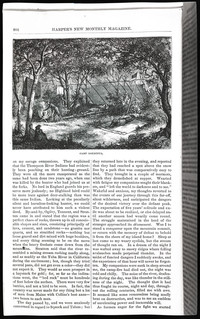 Mountaineering on the Pacific (copy of page 8 of article from Harper's New Monthly Magazine)