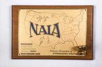 Basketball (Men's) Plaque: NAIA Championship District #1, 1960