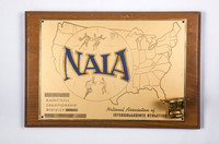Basketball (Men's) Plaque: NAIA Championship District #1, 1960