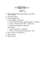 WWU Board minutes 1972 November