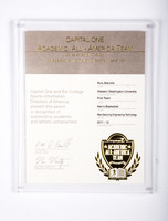 Basketball (Men's) Certificate: Academic All-American Team, Rory Blanche, 2011/2012