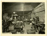 Interior of Bellingham Publishing Company print shop