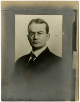 Studio portait of John F. Harris, Director, Pacific American Fisheries