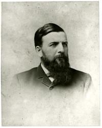 Studio portrait of C.X. Larrabee