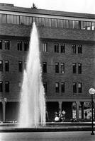 1975 Bond Hall and Fisher Fountain