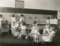 1920 Children In Classroom (Primary Grade)