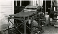 Fish processing machinery called The Smith Butchering Machine