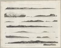 Views of Headlands and Islands on the Coast of North and South West America