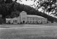 1943 Campus School Building Northwest Facade