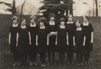 1927 Freshman Volleyball