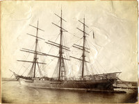 Three-masted sailing vessel William A. Campbell""