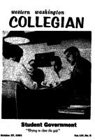 Western Washington Collegian - 1961 October 27