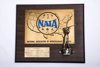 Golf (Men's) Plaque: NAIA District I Champions, 1981