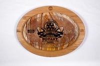 Football Plaque: Dixie Rotary Bowl Champions, 2008