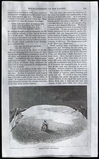 Mountaineering on the Pacific (copy of page 17 of article from Harper's New Monthly Magazine)