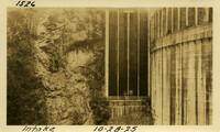 Lower Baker River dam construction 1925-10-28 Intake