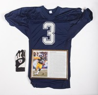 Football Jersey, Photograph, Glove: Jersey #3, Erik Totten