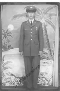 Unidentified man in uniform